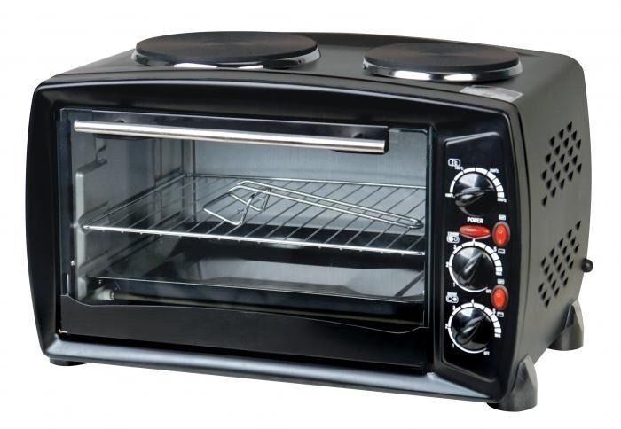 Table Top Ovens Electric ~ Table top electric mini oven grill double hob hotplate