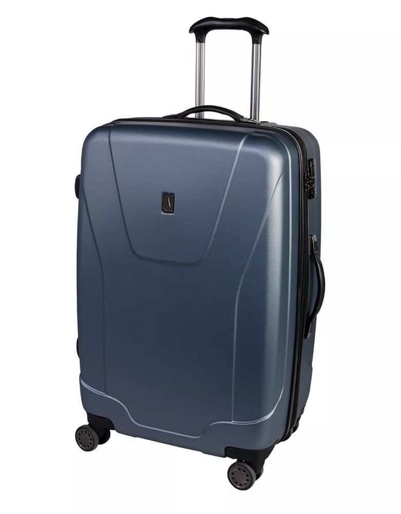 Travelpro 28 Quot Luggage Expandable 8 Wheel Spinners Steal Blue 215 Ebay