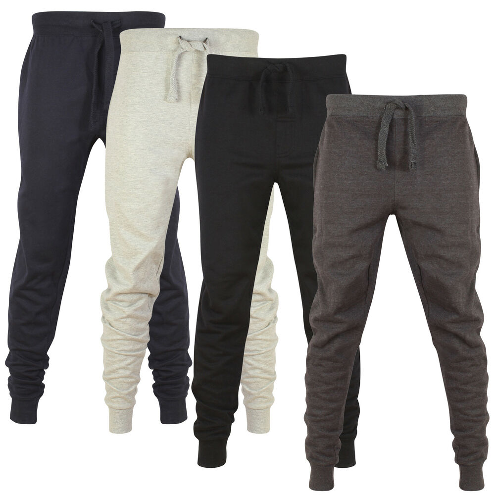 View all mens clothing Find the perfect joggers for working out or even lounging at home. Available in a variety of styles and materials including skinny, slim fit, jean and fleece jogging bottoms. You'll find all the top leisurewear brands such as Nike, Adidas, Puma, Slazenger, Under Armour, SoulCal and Lonsdale among others at discounted prices.