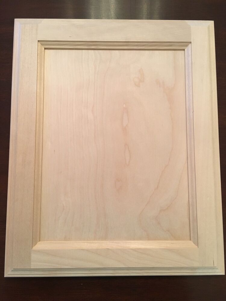 Natural Birch Flat Panel 13 X 16 Unfinished Stain Grade