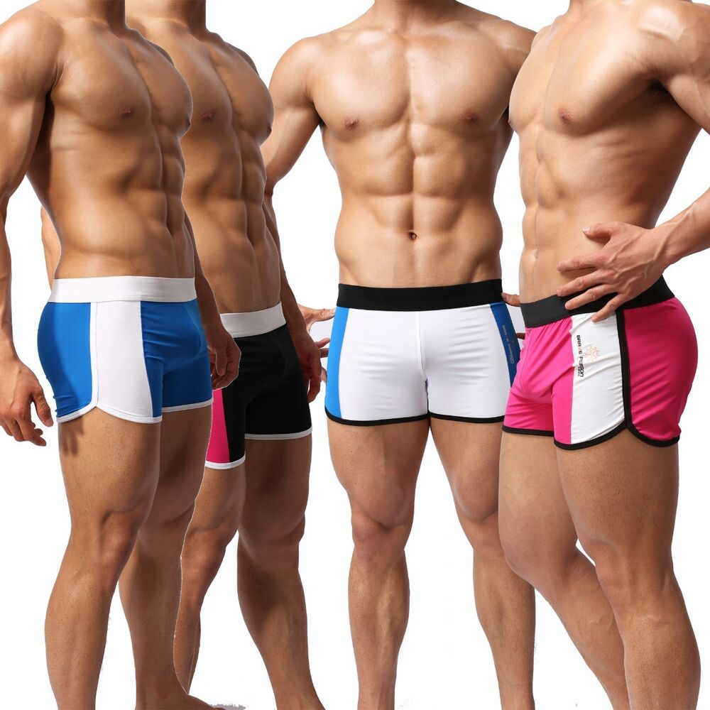 Brave Person Mens Boys Shorts Yoga Swimwear Underwear