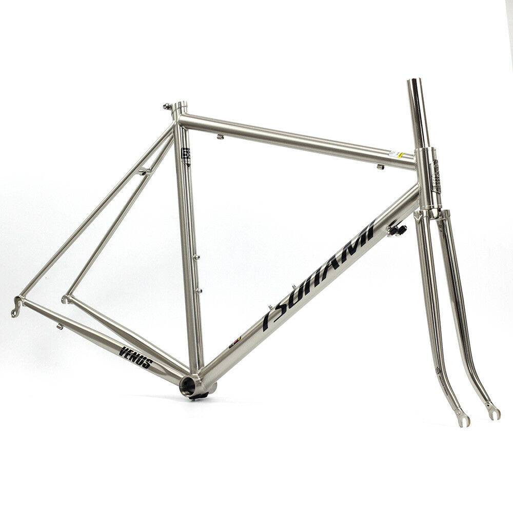 Tsunami Reynolds 520 Cr Mo Steel Road Bike Frame 700c