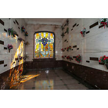 Mausoleum crypts in West View Cemetary Atlanta Ga.