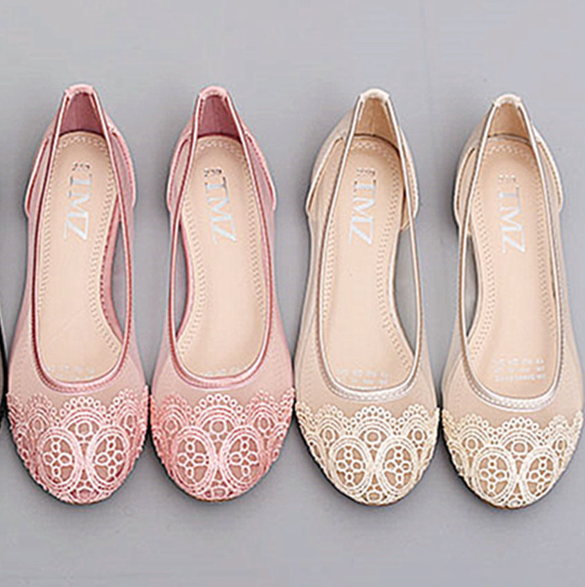 ballerina shoes for wedding ivory pink black silk satin lace flat ballet wedding 1464