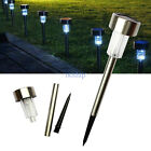 Stainless Solar lawn light Pathway Lamp Landscape Lighting Outdoor Yard Garden