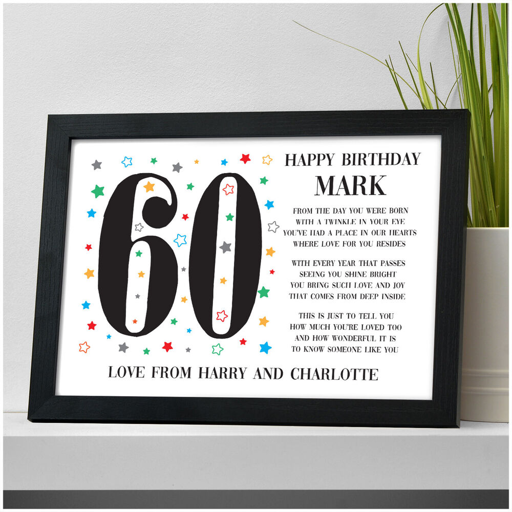Details About Personalised 30th 40th 50th 60th 70th Birthday Gifts For Men Dad Grandad
