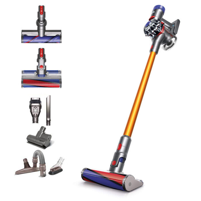 dyson v8 absolute cord free bagless stick vacuum cleaner ebay. Black Bedroom Furniture Sets. Home Design Ideas