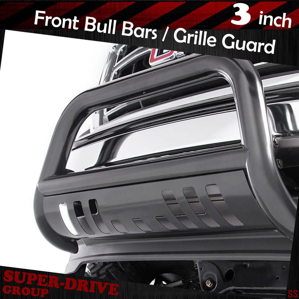 Car Bumper Guard >> Black Front Bumper Bull Bar For 2015-2017 Chevy Colorado Brush Push Grille Guard | eBay