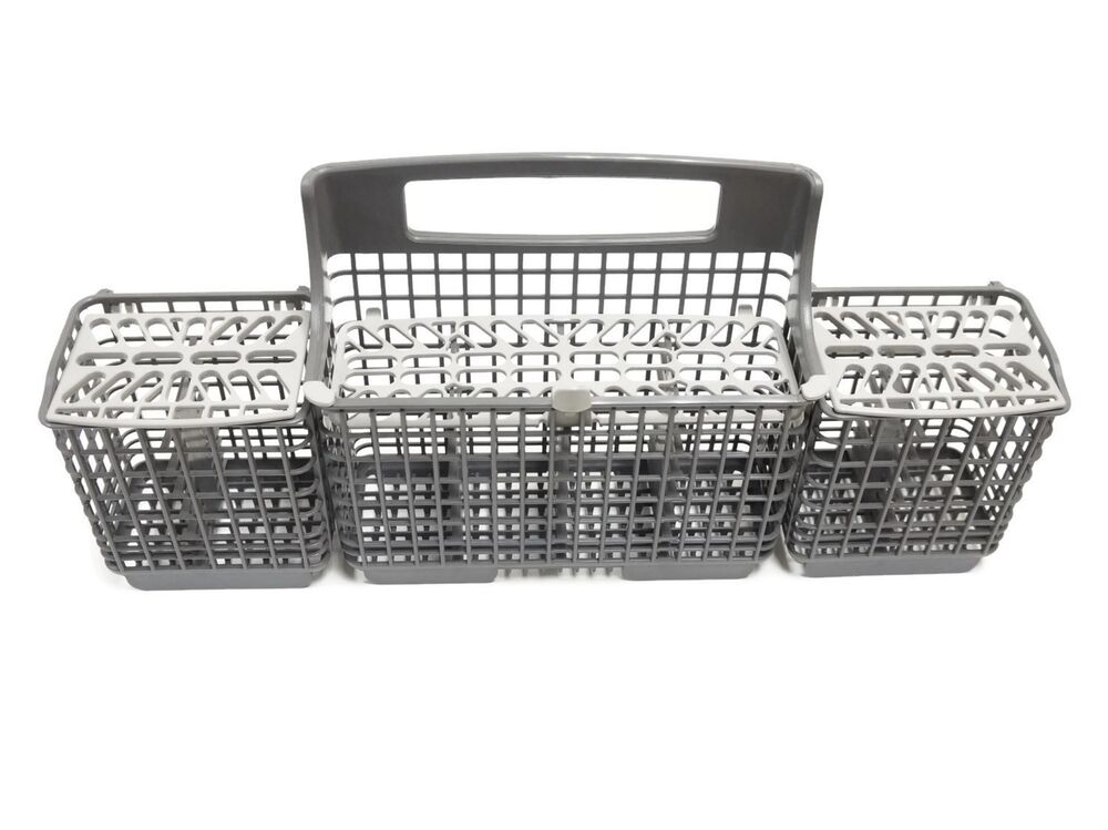 Whirlpool kenmore w10807920 8562086 dishwasher silverware basket new oem ebay - Kitchenaid silverware basket replacement ...