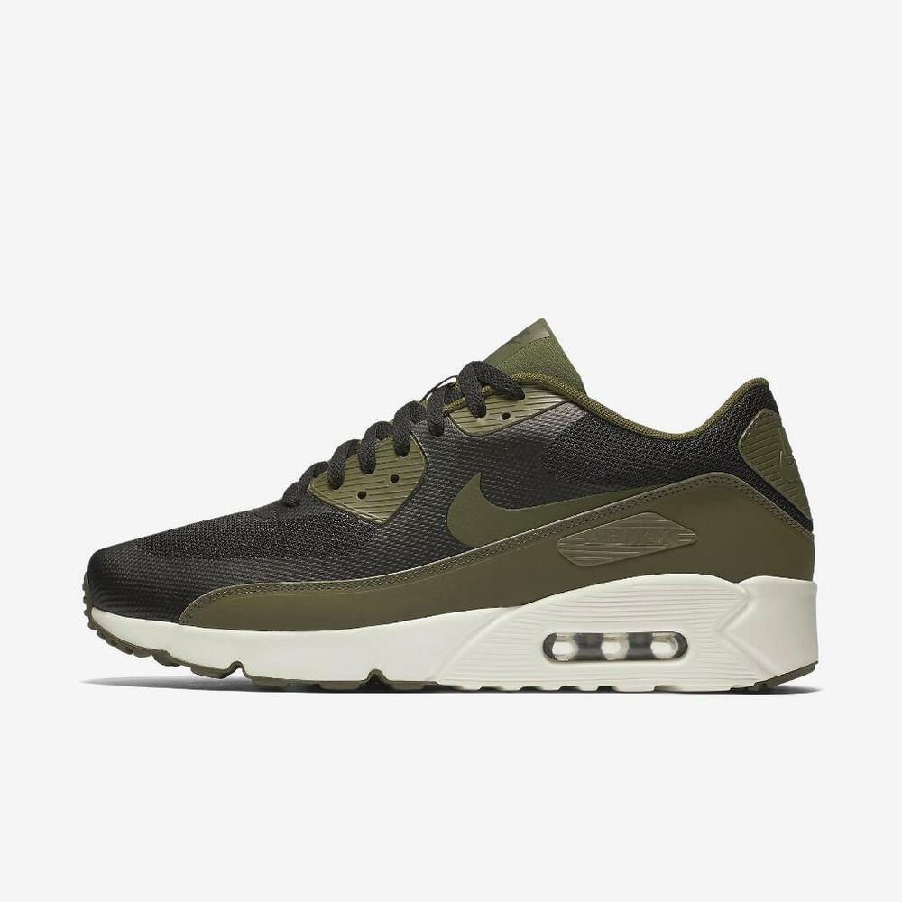 d0de0fd360 Details about NIKE AIR MAX 90 ULTRA 2.0 ESSENTIAL 875695 004 BLACK/LEGION  GREEN-SAIL WHITE
