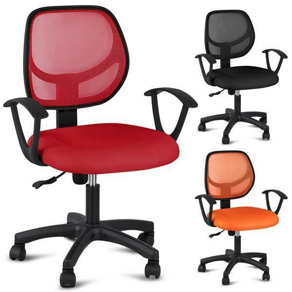 adjustable ergonomic mesh swivel computer office desk task midback mesh chair us ebay. Black Bedroom Furniture Sets. Home Design Ideas