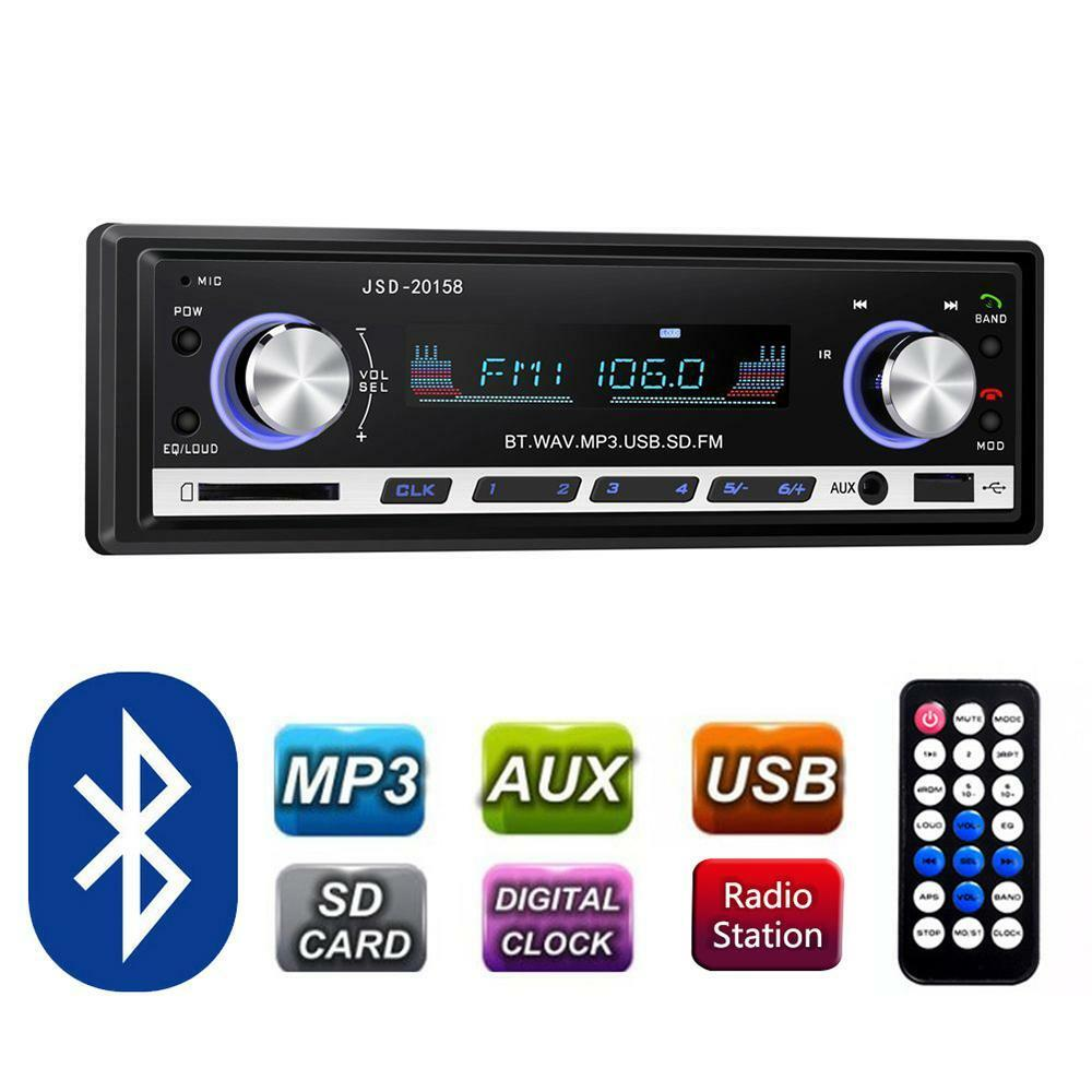 pioneer car radio stereo media player bluetooth aux usb. Black Bedroom Furniture Sets. Home Design Ideas