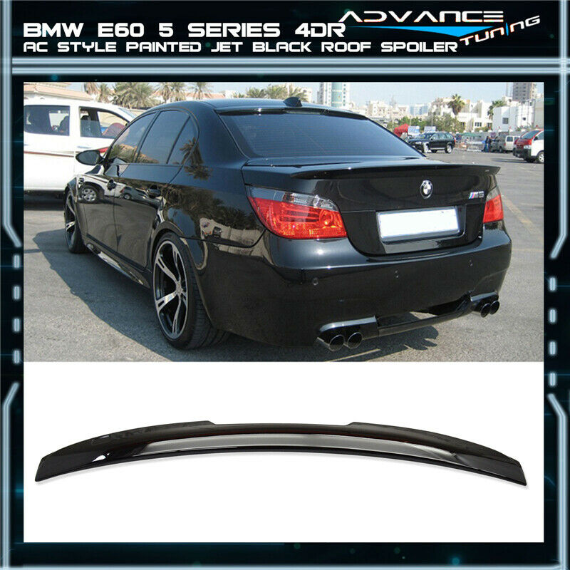 04-10 BMW E60 5-Series AC Style Roof Spoiler OEM Painted