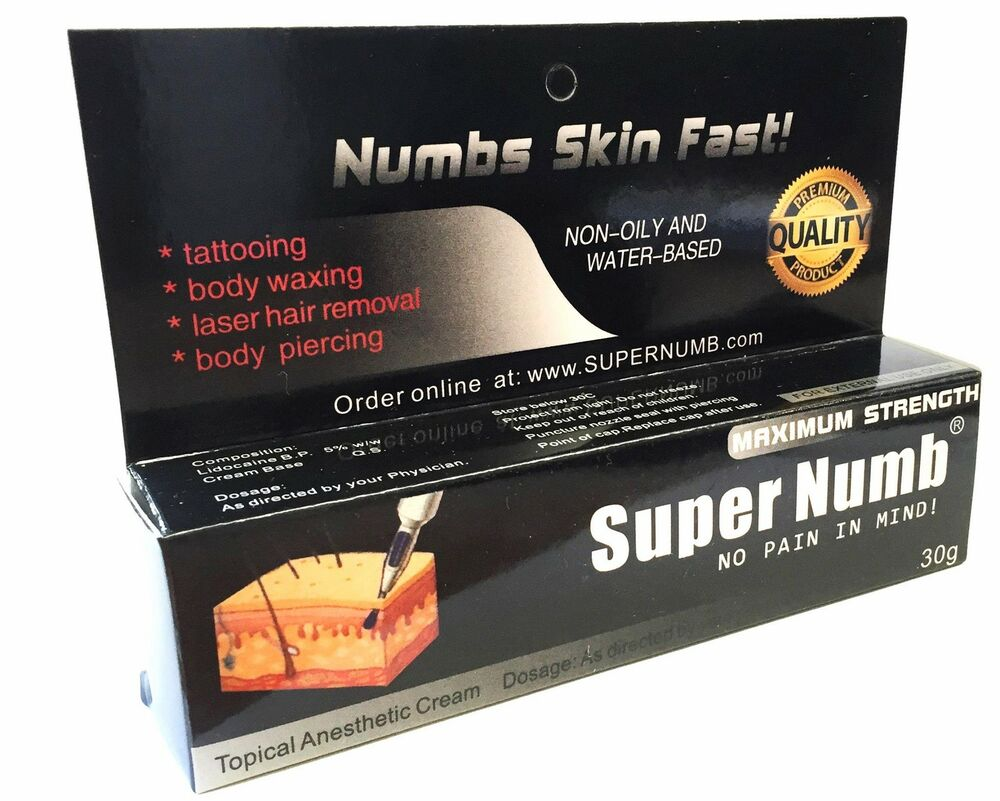 30g 600g super numb numbing cream numb tattoo piercings for Numbing for tattoo