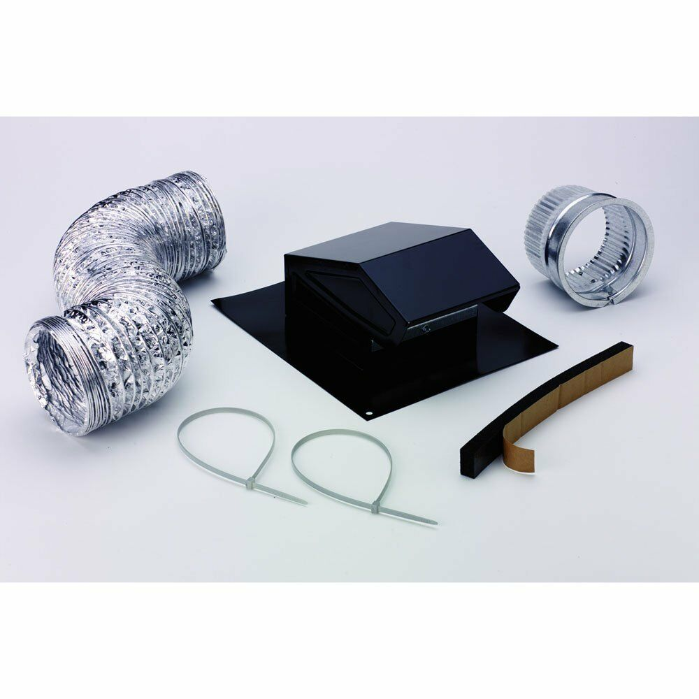 Roof Vent Duct Cap Kit Kitchen Bathroom Roofing Attic