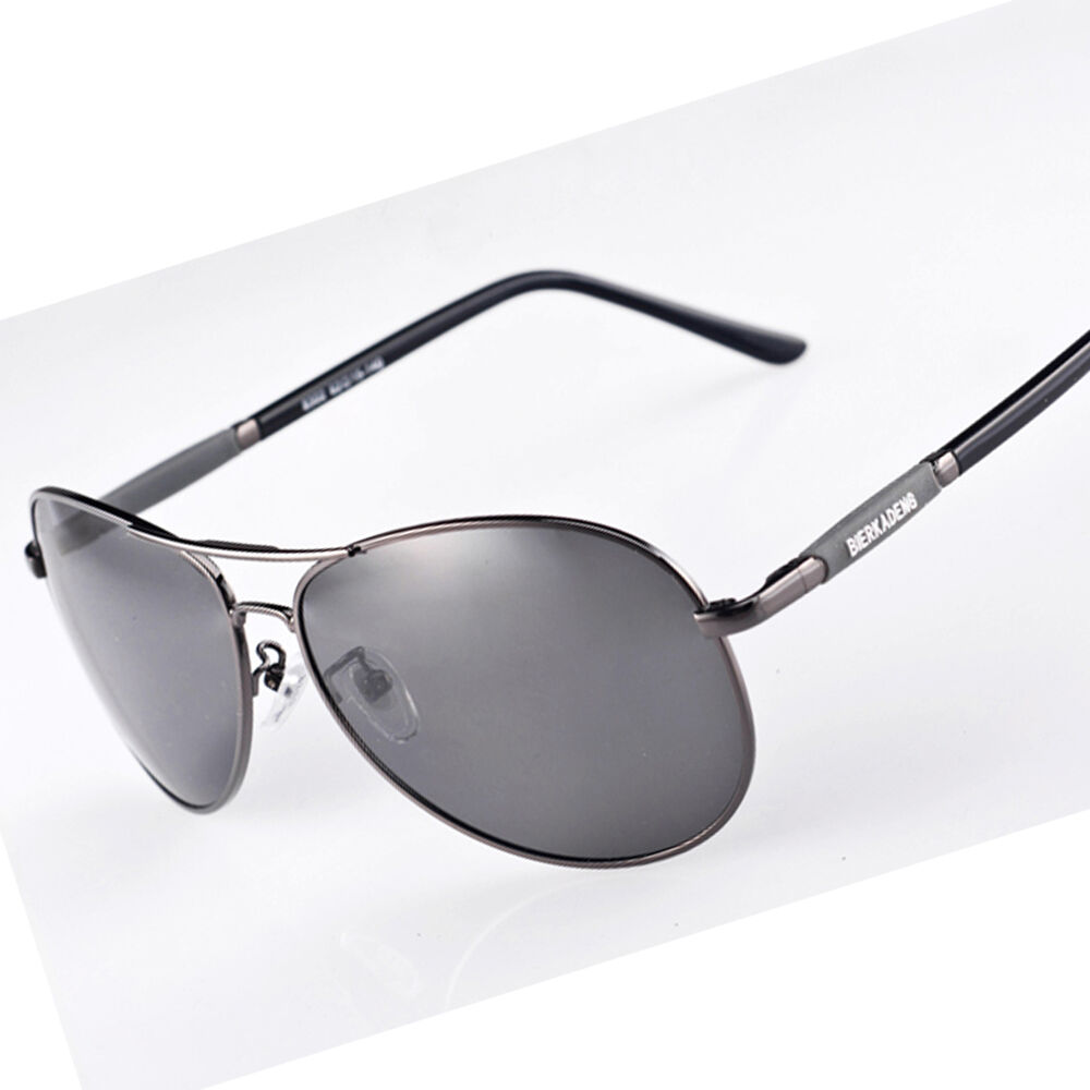 Transition Photochromic Polarized Lenses Men Sunglasses