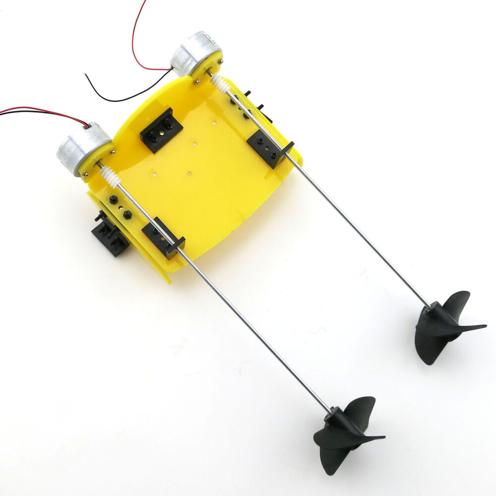 Electric Outboard Motor Kit: DIY Handmade Boat Ship Kit Electric Propeller Power Driven
