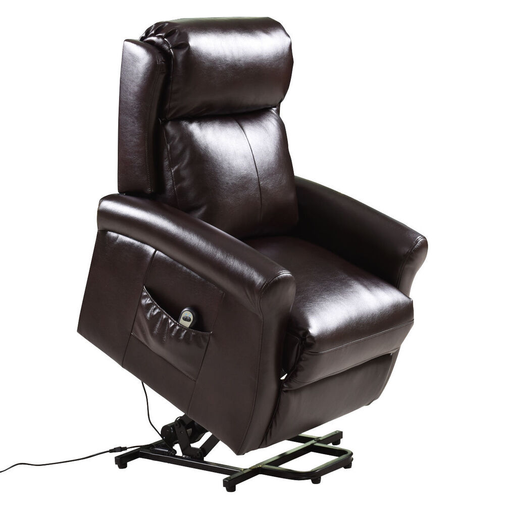Electronic Chair Lift : Electric power lift chair recliners remote living