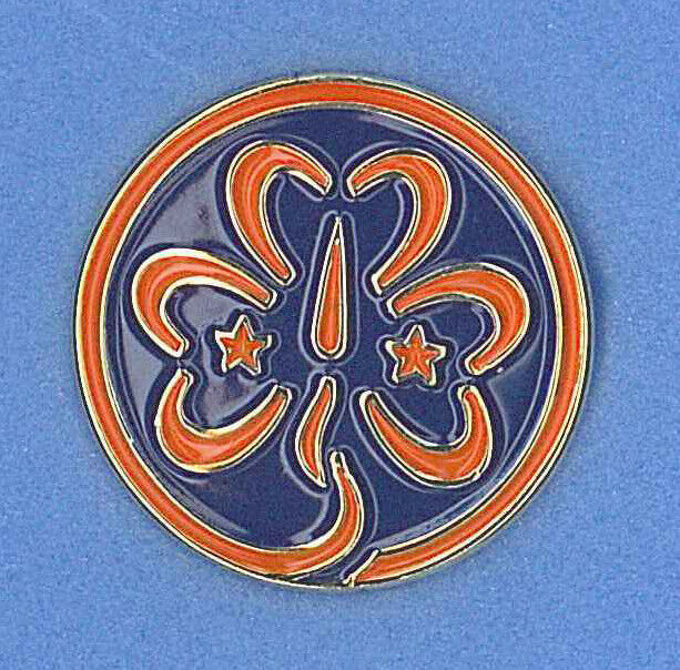 Girl Scouts Guides Of Taiwan - Girl Scout World Emblem -5187
