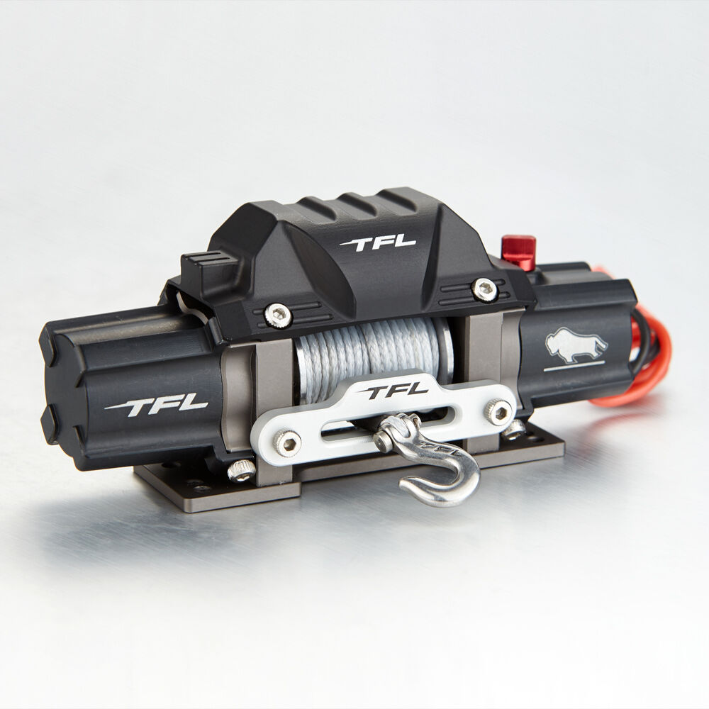 tfl rc scale 1 10 electric winch with twin motor alloy metal for rc rock crawler ebay. Black Bedroom Furniture Sets. Home Design Ideas