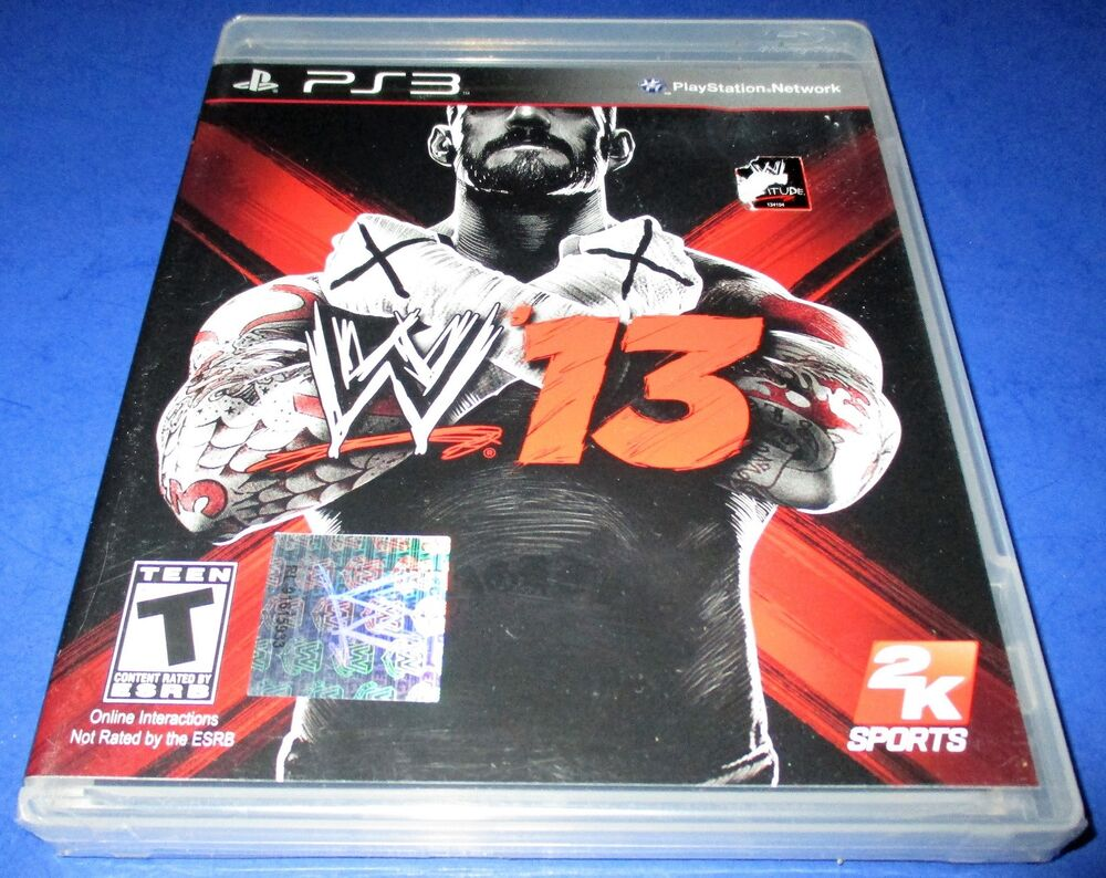 WWE '13 Sony PlayStation 3 *Factory Sealed! *Free Shipping ...Ps3 Games List 2012
