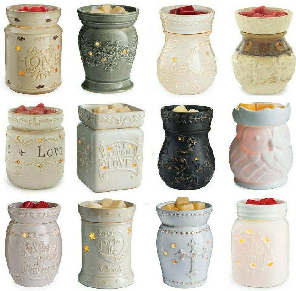 Electric Scented Wax Warmers ~ Candle warmers large use with scentsy yankee woodwick