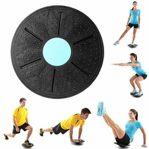 Balance Board Exercises For Back: 35cm Wobble Balance Board Stability Disc Yoga Training