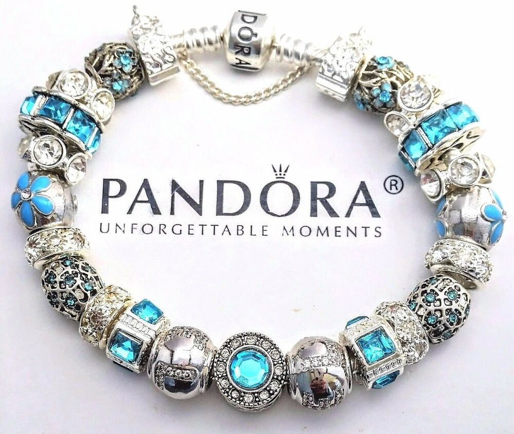Bead Charm Bracelets: NEW Authentic PANDORA Sterling Silver BRACELET With