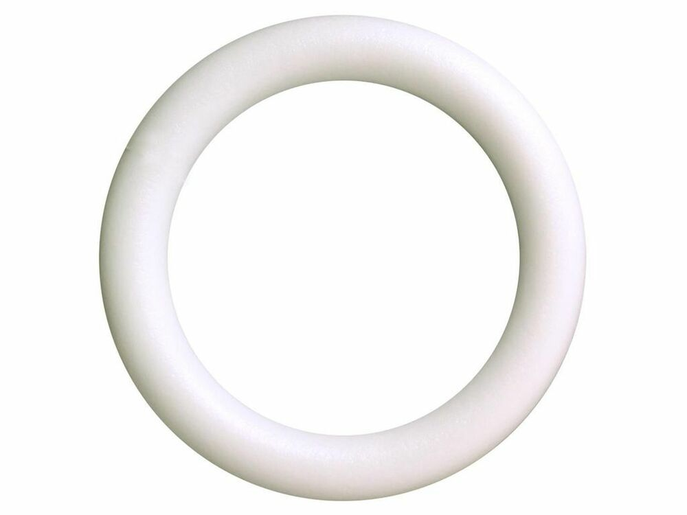 12 Foam Wreath Styrofoam Extruded Wreath Form 12inch