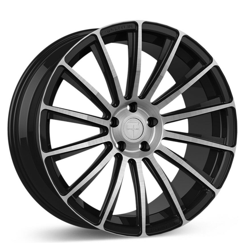 Tesla Model X Wheel 22 T Sportline Mx114 Forged Set In Diamond