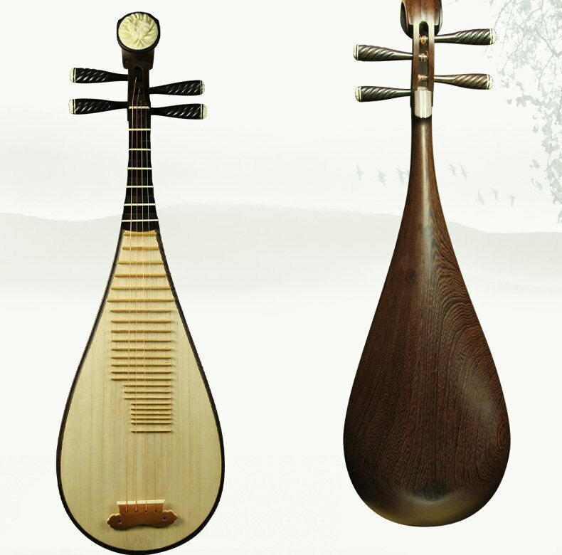 hand made asian instrument