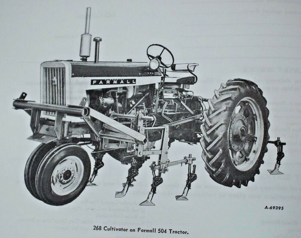 operated using detailed diagrams manufacturers farmall yesterday sale,  heres pic from manual  farmall ih international 504 tractor operators owner