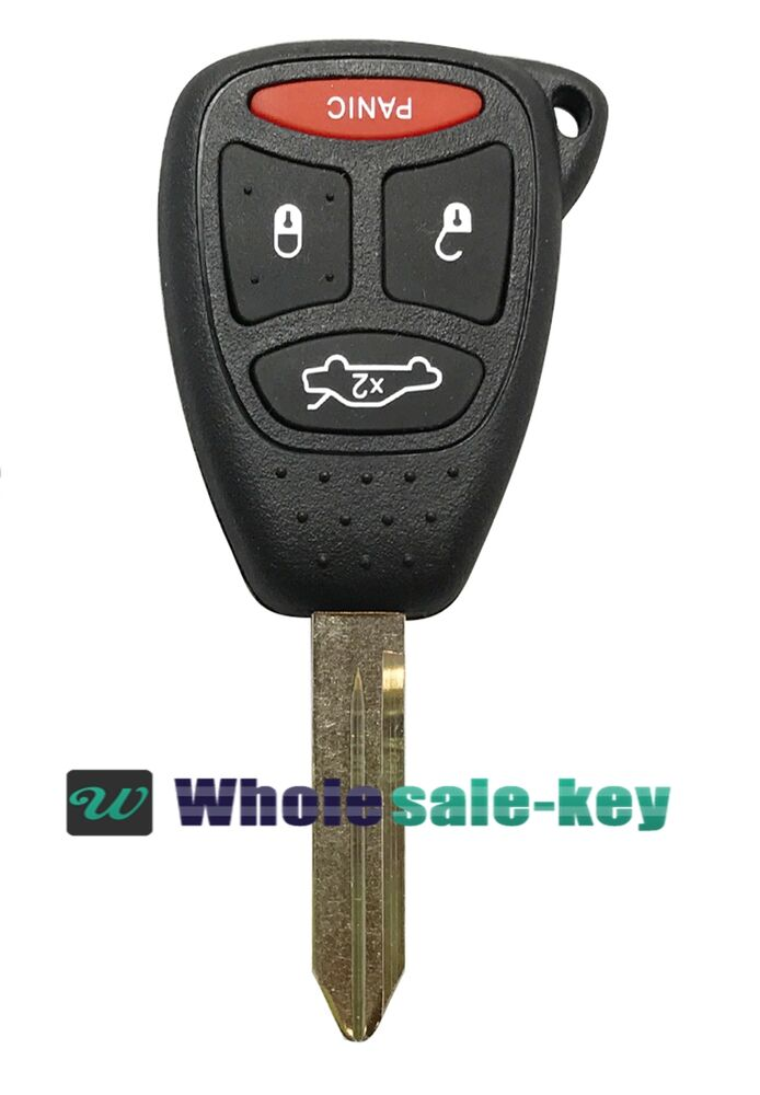 Replacement For Chrysler 2005 07 300 2007 09 Aspen Remote