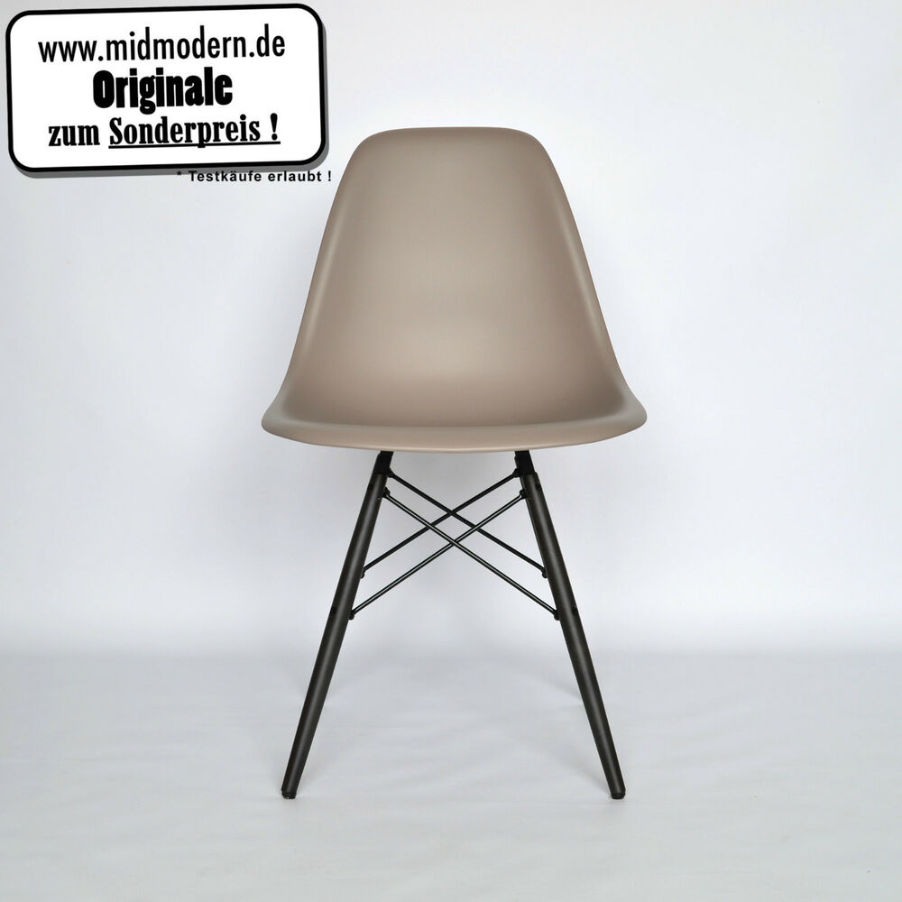 eames chair vitra dsw plastic side chair neu farbe mauve. Black Bedroom Furniture Sets. Home Design Ideas