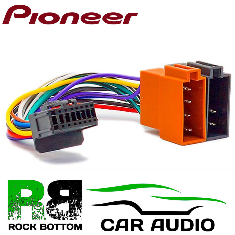 PIONEER DEH-P5050UB Model Car Radio Stereo 16 Pin Wiring Harness Loom ISO  Lead | eBay