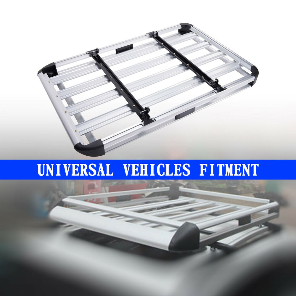 Universal Car Roof Cargo Carrier Luggage Basket Roof Rack