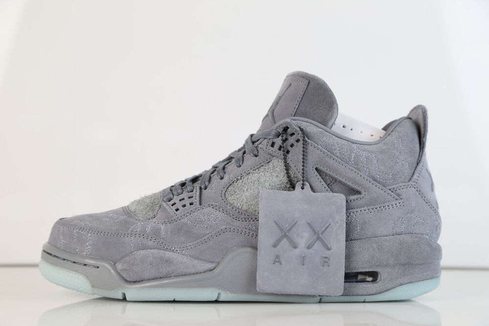 Nike X Kaws Air Jordan Retro Cool Grey IN STOCK - Best free invoice authentic online sneaker stores