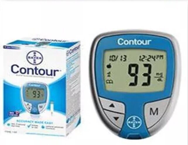 Contour Blood Glucose Monitoring System Meter With