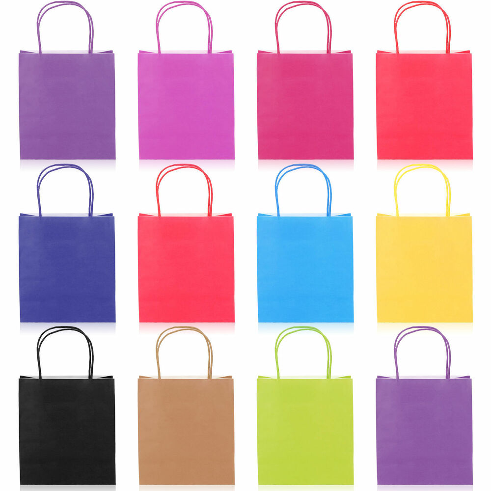 27cm X 21cm Paper Carrier Present Gift Bags Christmas