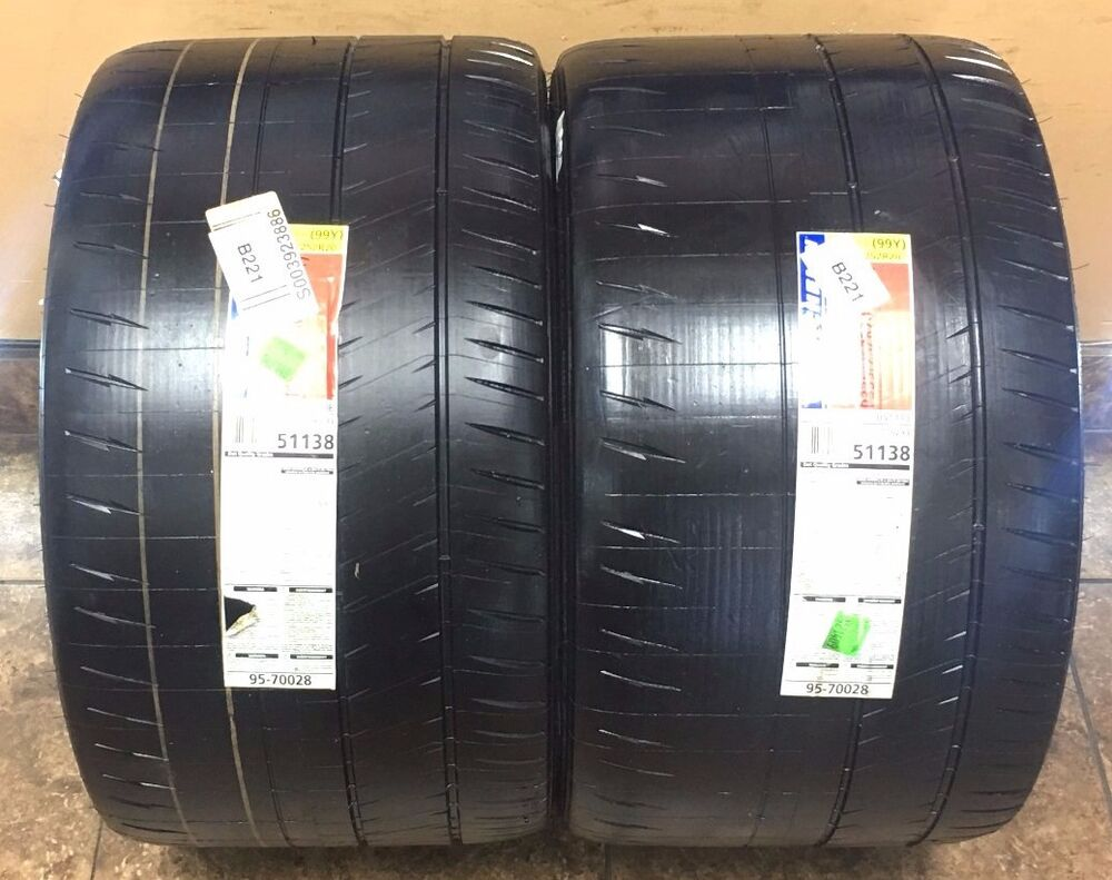 michelin pilot sport cup 2 zp 335 25 20 new tires pair 2. Black Bedroom Furniture Sets. Home Design Ideas