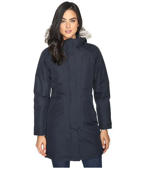 a2bb0883 Details about NWT THE NORTH FACE WOMENS ARCTIC PARKA DOWN PUFFER NAVY BLUE  HEATHER