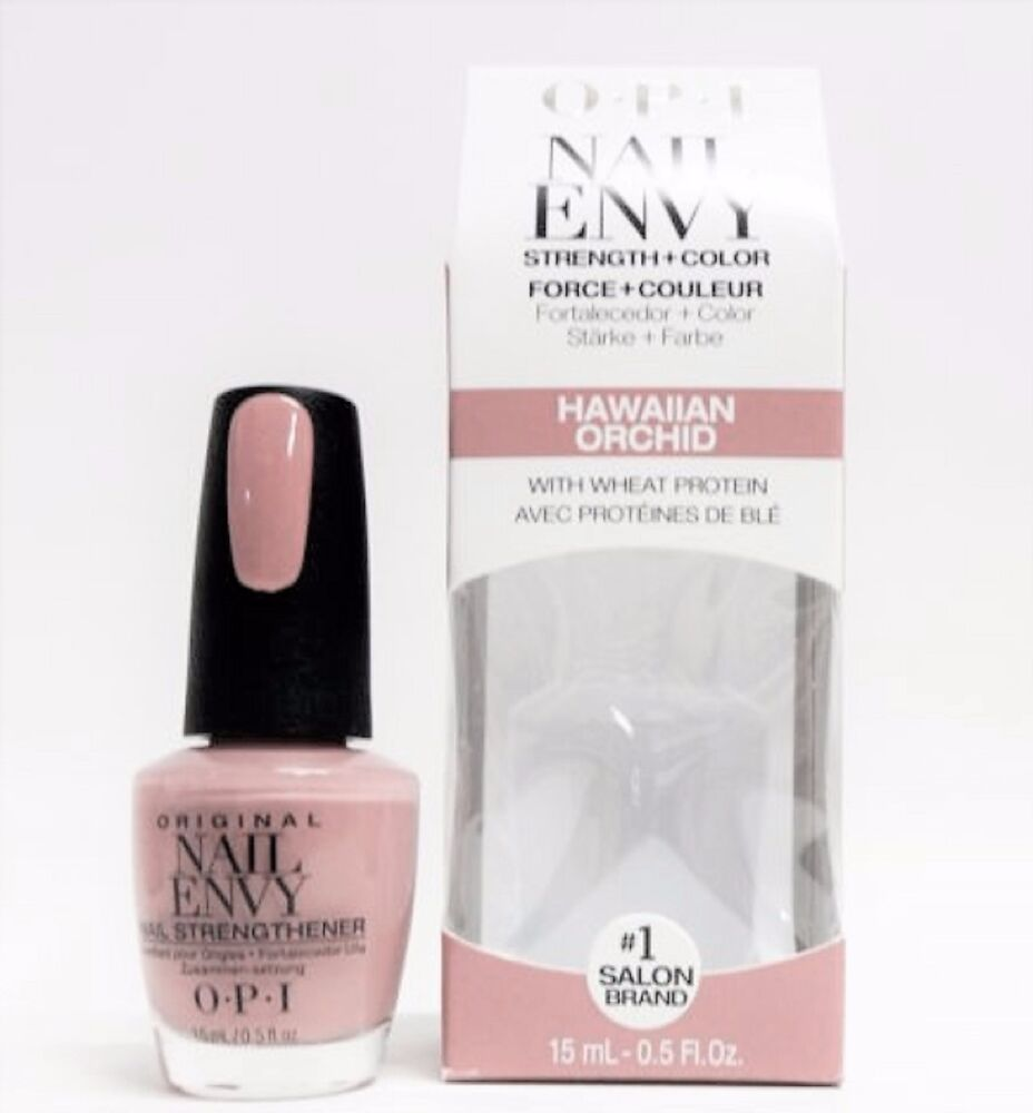 Nail Envy Vs Nail Tek: OPI Nail Strengthener ENVY Strength + Color HAWAIIAN