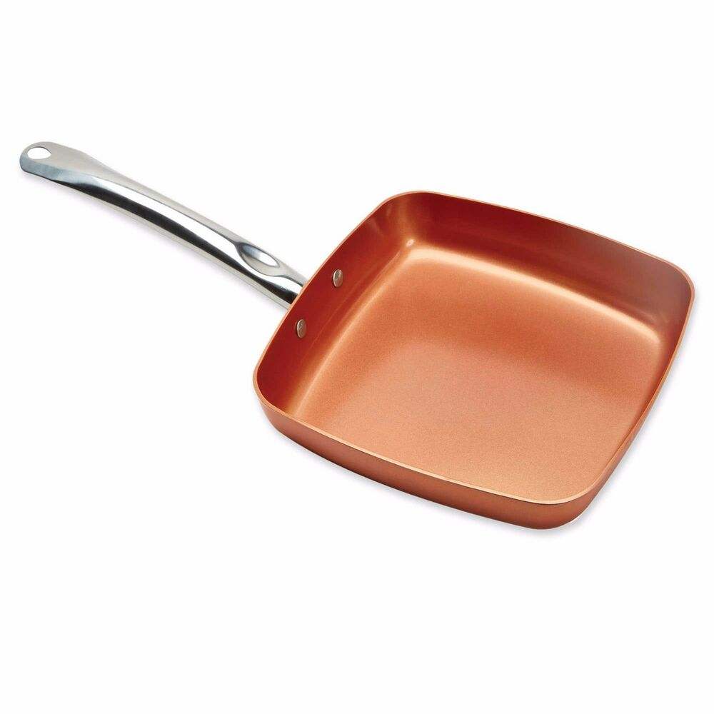 Copper Chef Xl 11 Quot Inch Square Nonstick Ceramic Aluminum