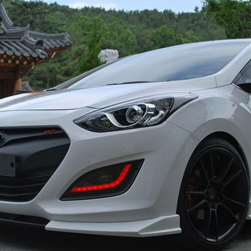 Front Lip+Side Skirt Body kit Unpainted For Hyundai ...