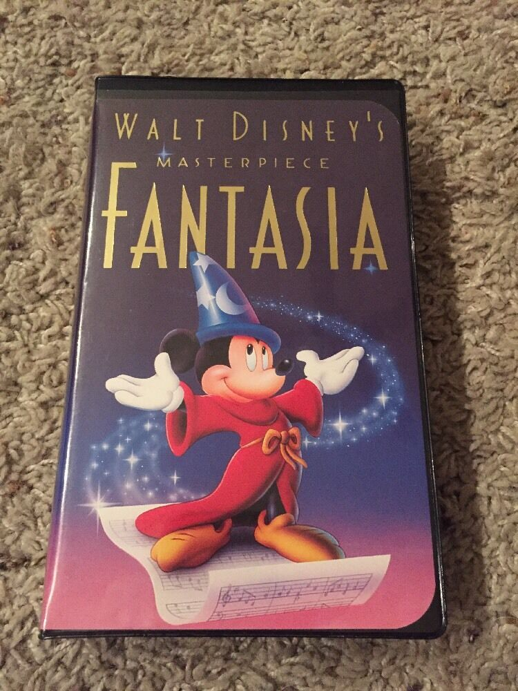 d2acb91a2637 Details about Disney s Fantasia Mickey Mouse Masterpiece Collection  1132  VHS Tape EUC