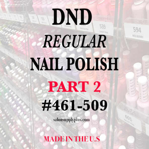DND Daisy Regular Nail Polish Lacquer - .5 fl oz - Choose your colors - PART 2