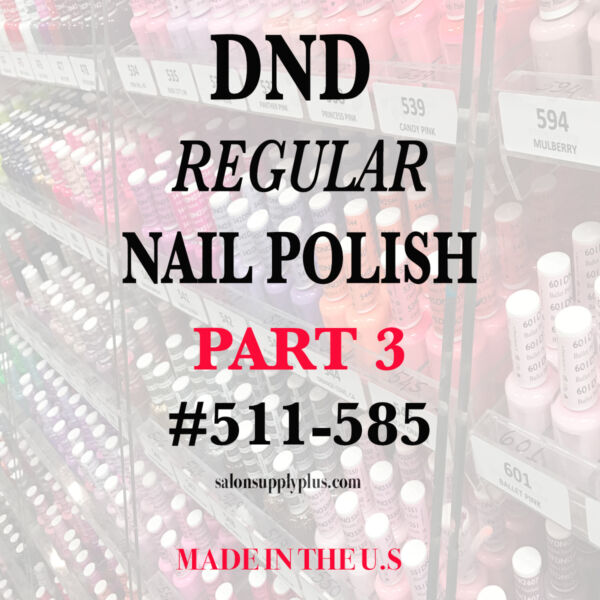 DND Daisy Regular Nail Polish Lacquer - .5 fl oz - Choose your colors - PART 3