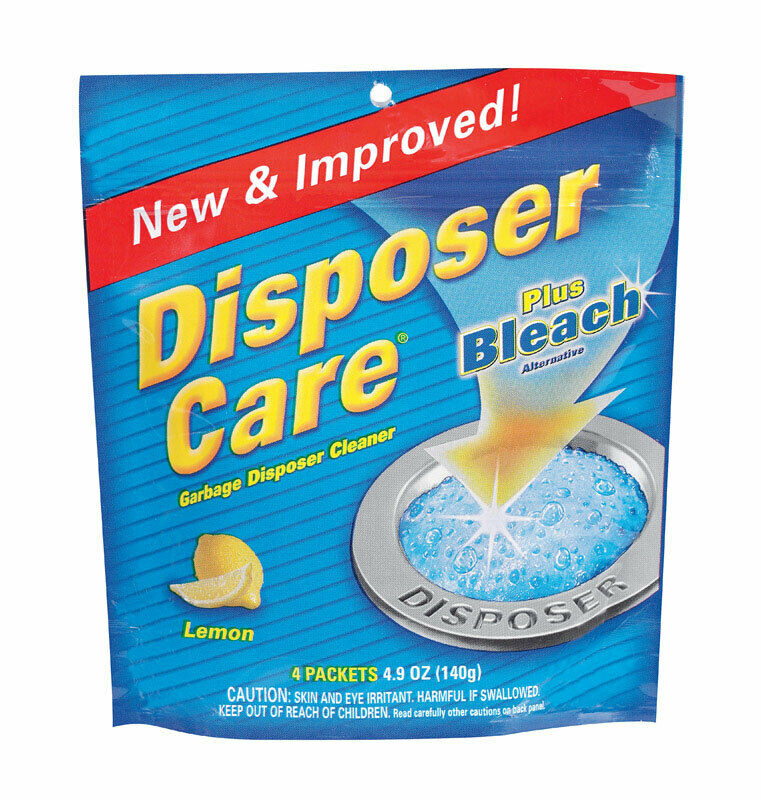 Disposer Care Garbage Disposal Cleaner Lemon Scent 4