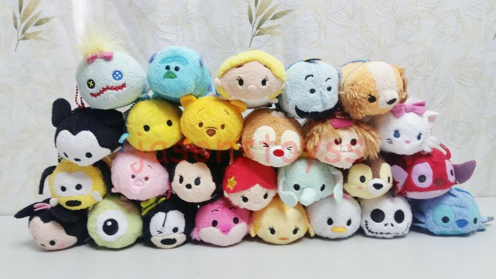 Eeyore Disney Tsum Tsum Tigger Piglet Minnie Mouse: 170 Disney TSUM Eeyore Mickey Winnie Stitch Mini Plush