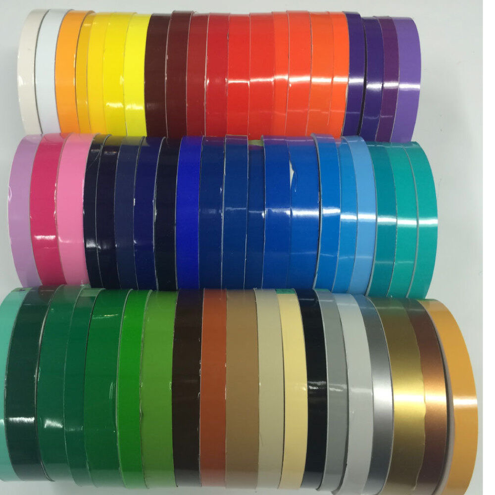 2 x 150 ft roll oracal vinyl pinstriping pinstripe tape 63 colors available ebay. Black Bedroom Furniture Sets. Home Design Ideas